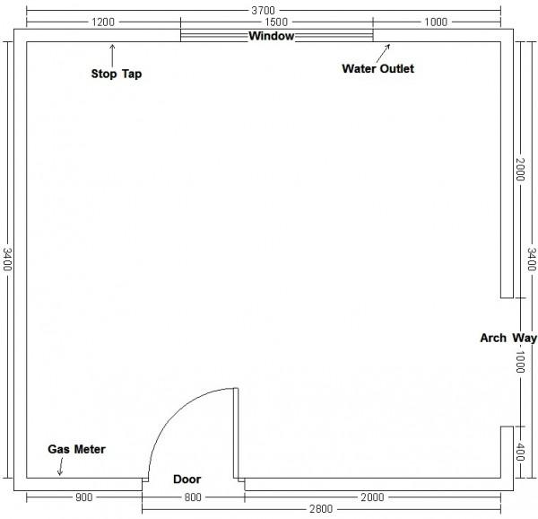 How to measure floor plan